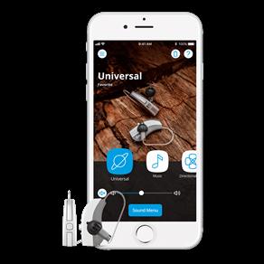 Widex-EVOKE-F2-and-Iphone
